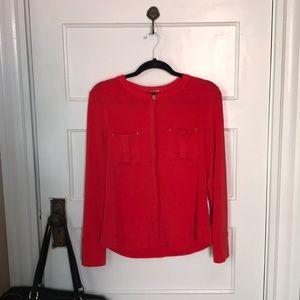 Dana Bachman red long sleeve